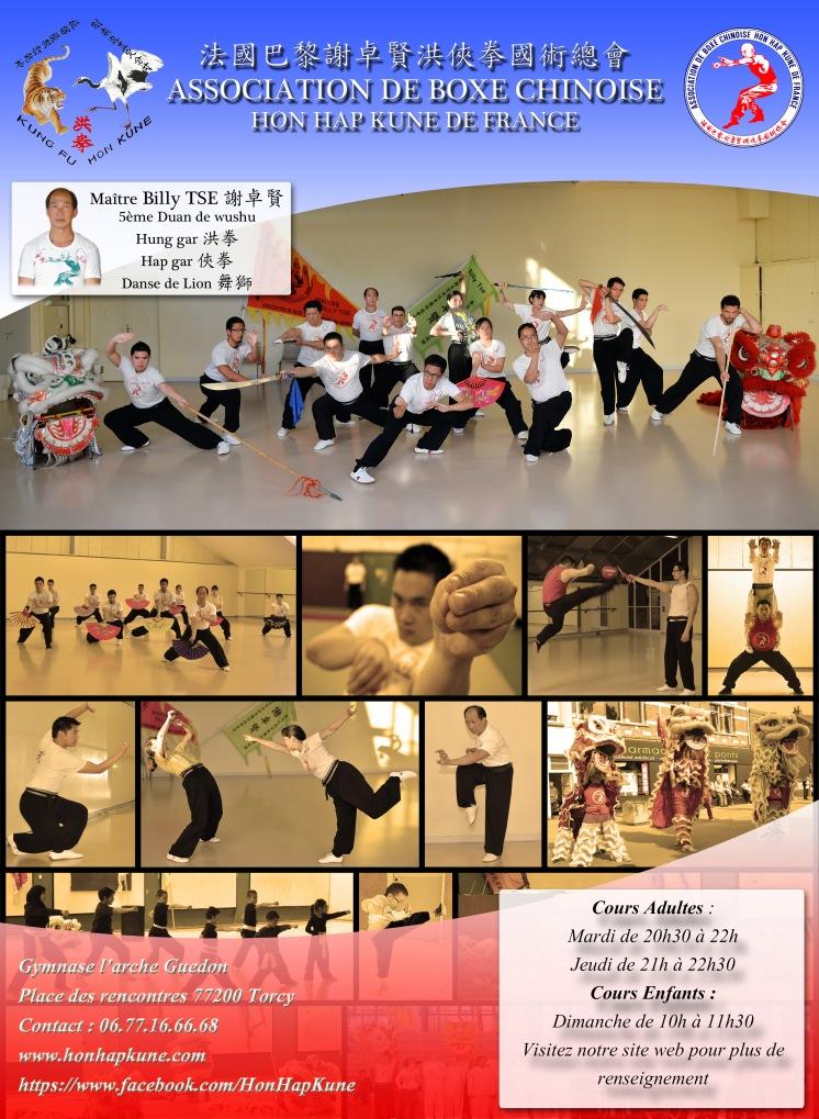 Flyer Kung Fu 2016